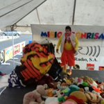 Ya esta presente el Staff de @elcorrecorre en #MisiónSonrisas ¡Te esperamos en C.C. Mega Centro, zona 7. https://t.co/wdkgYztNKh