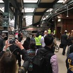 Photos show train crashed into a platform at Hoboken, New Jersey station https://t.co/Yfhy1yaC9Q https://t.co/kiYrIMALFy