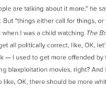 I asked Tim Burton about the lack of diversity in Miss Peregrines. Heres his excuse. https://t.co/Ez2mA69O2f https://t.co/nOT1umIoUl
