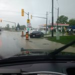 Essex OPP - flooding in Tecumseh. Please use extreme caution driving in the area. Media: jim.root@opp.ca https://t.co/8hDA1JvobF