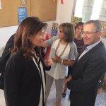 Avui hem rebut la visita del president de la @CruzRojaEsp, Javier Senent, que ha volgut conèixer les problemàtiques del territori. https://t.co/KAn1FW0H5g