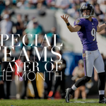 Congrats to Special Teams Player of the Month, @jtuck9! 📄: https://t.co/vN6QgTNBaD https://t.co/Fgg3p36uD5