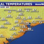 Current temperatures around the #Houston area. #TXwx https://t.co/XYD4gNgyv5