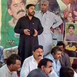 PPP leadership of Distt SBA Ali Akber Jamali & @gslaghari at Martyrdom Anniversary of #MRD martyrs at Village Punhal Chandio https://t.co/Qql9OKV2tE