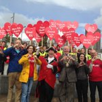 Supporting #WorldHeartDay in Galway, 15 min lunchtime walk around the city centre! #hearthealth https://t.co/CL98JU1rZO