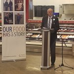 Excited to be here with Minister Stewart, @SKAgriculture and @FarmFoodCareSK to kick-off Saskatchewans Ag Month #ourfoodhasastory https://t.co/lMAqY5l5ke