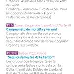 A la versió castellana del programa de les Festes han traduït campionat de butifarra per campeonato de morcilla https://t.co/9ykvlBo1YP