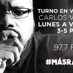 ¡Más música en el turno en vivo de las 3PM con @SoyCVargas! Sintoniza 97.7FM #Acapulco #MásRadio https://t.co/bmwCoohCUG