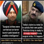 Indian Army fooled their own nation by the fake #SurgicalStrike news. Its not bollywood movie, dont mess with us! https://t.co/1xPpf1gLCH