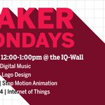 The Maker Mondays workshop series is back! Check out the Fall lineup and register now: https://t.co/vkMhCmfIPG https://t.co/daj3nYZwcs