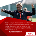 💭 #ThursdayThoughts from the boss ahead of #SWAvLFC! https://t.co/EWeC9ThoOJ