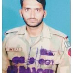 Martyred along the LOC, today: Naik Imtiaz, a native of Faisalabad and the father of 3 little girls - RIP https://t.co/qHBv08Mina