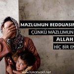 Mazlumun Beddusından Kork. Çünkü Mazlumun Bedduası İle Allah Arasında Hiç Bir Engel Yoktur. (Buhari) https://t.co/1z62HtNUkI