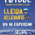 El @Lleida_Esportiu - Atlético Levante es jugarà el 12 doctubre a les 18:00h https://t.co/nBAtloENuS https://t.co/XnLzXkVZ9b
