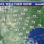 Heres a look at the weather across Texas right now. #TXwx https://t.co/4OrGUDGUzs