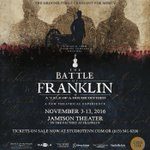 Are you ready for when @StudioTenn presents The Battle of Franklin? https://t.co/32mRAiNv0F https://t.co/ANtwYTwxIf