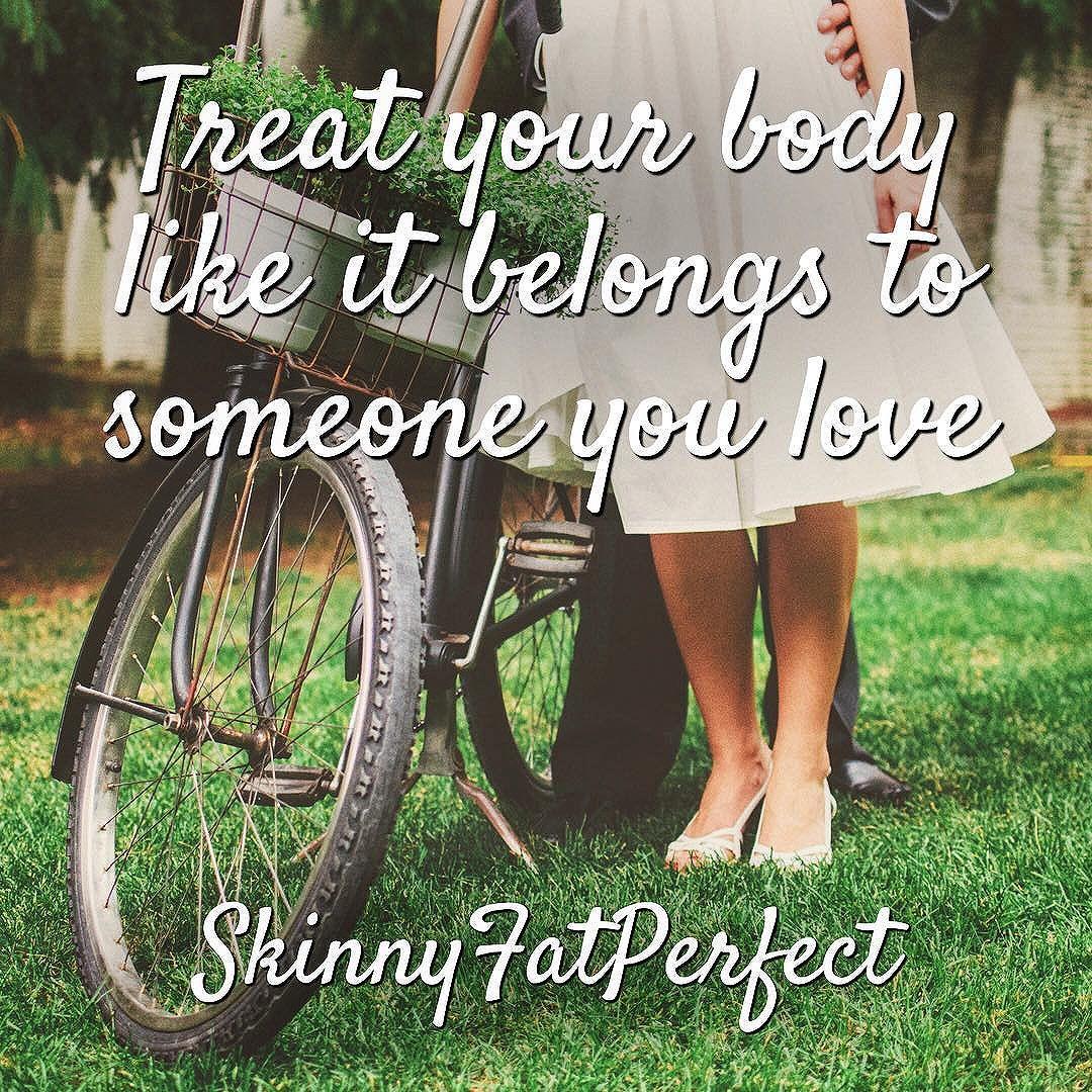 Treat your body like it belongs to someone you love. #bodyacceptance #empoweringwomen #lovemybody https://t.co/PsROp6Roum