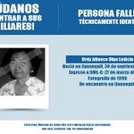 #AyúdenosAIdentificarlos: Olga Leticia Ortíz Añasco, #Guayaquil. https://t.co/R5IUs6JXBM