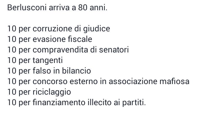 #Berlusconi80 #Silvio80 #AuguriPresidente #AuguriSilvio  [@pinopinazzi ] https://t.co/NrCa0sQJXw