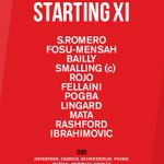 Heres tonights team... #MUFC #UEL https://t.co/wWaVe59F2r
