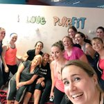 #OMG. I politely had my bum handed back to me at @PurefitGalway Thank you!  @bikingqueen for bringing me!! https://t.co/pc3DmBiWsM