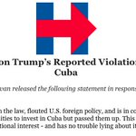 Statement from Jake Sullivan on Trump's Reported Violation of the U.S. Embargo Against Cuba https://t.co/cLxxfQBAuV