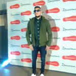 .@akaworldwide arriving to support his boo, @bonang_m at her big reveal tonight. #myipanema #mysummer https://t.co/byQx0VupBN