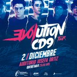 Éste 02 de diciembre, regresamos a Querétaro con nuestro #EVOLUTIONTOUR ¡No pueden faltar!  https://t.co/J2dCCL7WiG https://t.co/1nXdKhN3SR