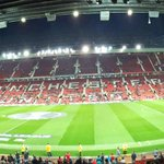 Are you at Old Trafford tonight? Lets see your view! #MUFCFANS https://t.co/RawDxLdDKe