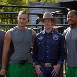 O-Line weigh-in today after practice. Ducks 1,510 lbs, Percolator the Bull 1440 lbs #GoDucks https://t.co/33aIWOEVi3
