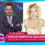 """""""Estoy feliz por la vuelta de Pampita. Me quedé con la sensación de rencor entre Pampita y Polino"""", @valientesoledad https://t.co/qAbKs0K2Vw"""