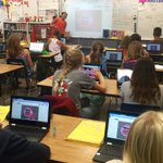 Sharing, presenting, collaborating, peer feedback & community building: too much awesome from @MonteVistaPVSD DigitalMedia6 class #pvshares https://t.co/aXgAsiGUn5