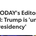 Crazy USA Today endorsing for first time ever. https://t.co/GIsWociApz https://t.co/oeA0upQRts