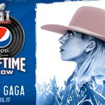 .@ladygaga to perform at 2017 Super Bowl halftime show! https://t.co/w7ACLGhlso https://t.co/7uMQYf6LZK