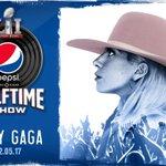 Congrats @ladygaga – see you in Houston! #BreakoutthePepsi #SB51 #PepsiHalftime #NFLonFOX https://t.co/hAkdlFFHuU