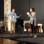 Name a more #iconicduo ...well wait... Rehearsal is underway for tomorrow- MU Tonight is at 8pm in the Shack!! https://t.co/FfbFisDNkY