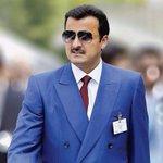 أعرب كلمة #قطر ق : قلبي ط : طمأنينة ر : رخاء وهي المبتدأ  وهي الفعل المرفوع بالعز والفخر • وهي : #تميم_بن_حمد https://t.co/R1oxP9F8EL