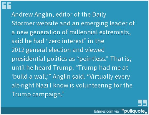 If Trump wins, it will be because neo-Nazis helped get out the vote. https://t.co/MY8BOQshjB