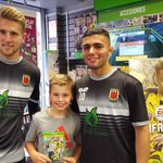 Photos from @chorleyfc visit to our #FIFA17 launch-day pt.1 https://t.co/xe1c114r9m