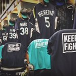 A big weekend is about to begin at Safeco Field. RT for a chance to win a #KeepFighting T-shirt. https://t.co/jXsouuv1mm