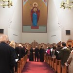 #CatholicUprays TRS Deans Vespers at the Ukrainian National Shrine- Washington DC https://t.co/EkITVoavMa