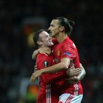 FOTO: United 1-0 Zorya ➡️ Assist: Rooney ⚽️ Gol: Ibrahimovic #MUFC #UEL https://t.co/xB9GxXyOxI