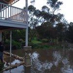 North Para River threatens to flood a home at Tanunda @abcnewsAdelaide https://t.co/VhNsSxAxXn