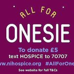 Text Hospice to 70707 #AllForOnesie #Belfasthour @NIHospice @U105radio https://t.co/FJ5hnuTOKP