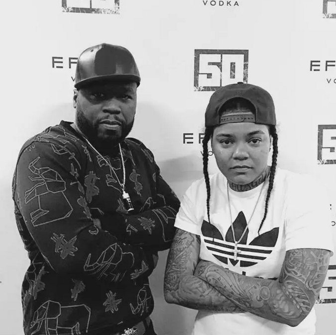 RT @ComplexMusic: PREMIERE:   @50cent jumps on @YoungMAMusic