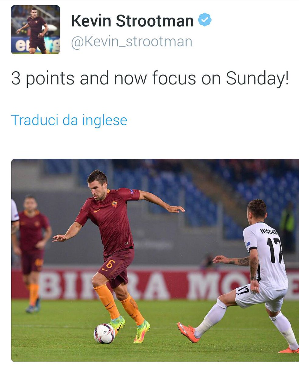 #Strootman