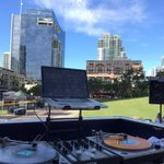 Out here at @PetcoPark DJin the #Oktoberfest party for the @padres last home game of the season! 🤘🏼⚾️🍻 https://t.co/qlbSzRX8mC