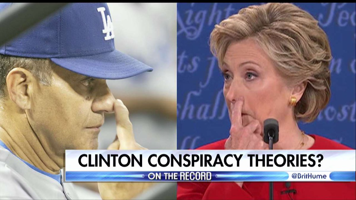 Hillary Clinton Conspiracy Theories Swirl After First Presidential Debate @brithume @edhenry https://t.co/LJgCVjs8e7 https://t.co/Fj6WvrC3Mc