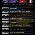 Time to plan your #BeatStanford day. Heres our gameday timeline for tomorrow at the #GreatestSetting. #PurpleReign https://t.co/cbX9Lr5o4H