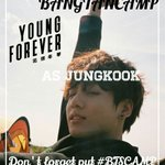✌ @BTS_Jeeon97 as Jeon Jungkook magnae of BTS, keep solid! #BTSCAMP https://t.co/zVNbD009sq